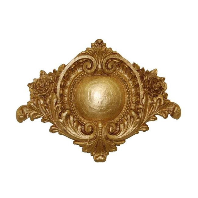 Hickory Manor Home 2503GL Centerpiece Medallion, Gold Leaf - image 1 of 1