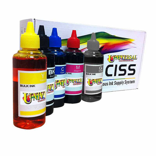 Universal Inkjet Canon PGI-250/CLI-251 KCMYGY Continuous Ink System Refill Pack (for Canon MG6320/MG7120)