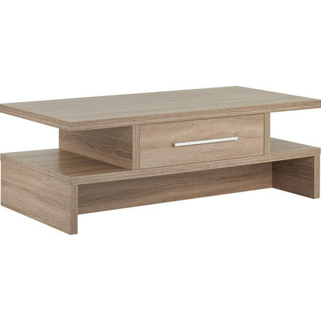 Furniture of america snyder transitional style coffee table light oak Light oak coffee tables