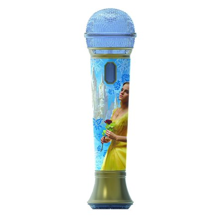 Disney Beauty and the Beast Sing Along Pretend Microphone Sing to Built in Music or Connect Your Device and Sing To Whatever You Like - Halloween Sing Along Cd