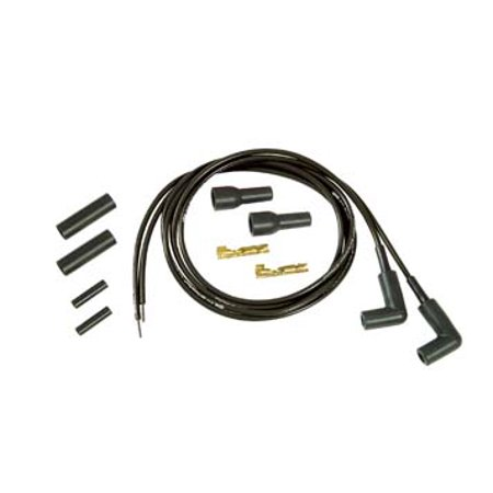 Thundersport Black 5mm Spark Plug Wire Kit,for Harley Davidson,by Accel