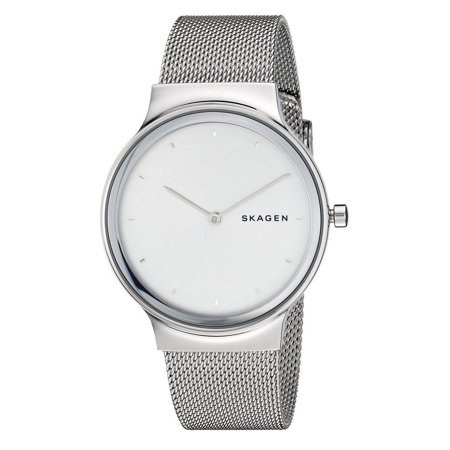 SKW2705 Women's Freja Stainless Steel Silver Dial Mesh Band 2-Hand Watch