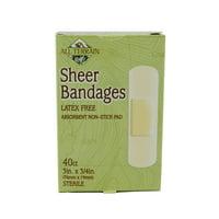 "All Terrain Sheer Bandages 3/4"" x 3"", 40 Ct"