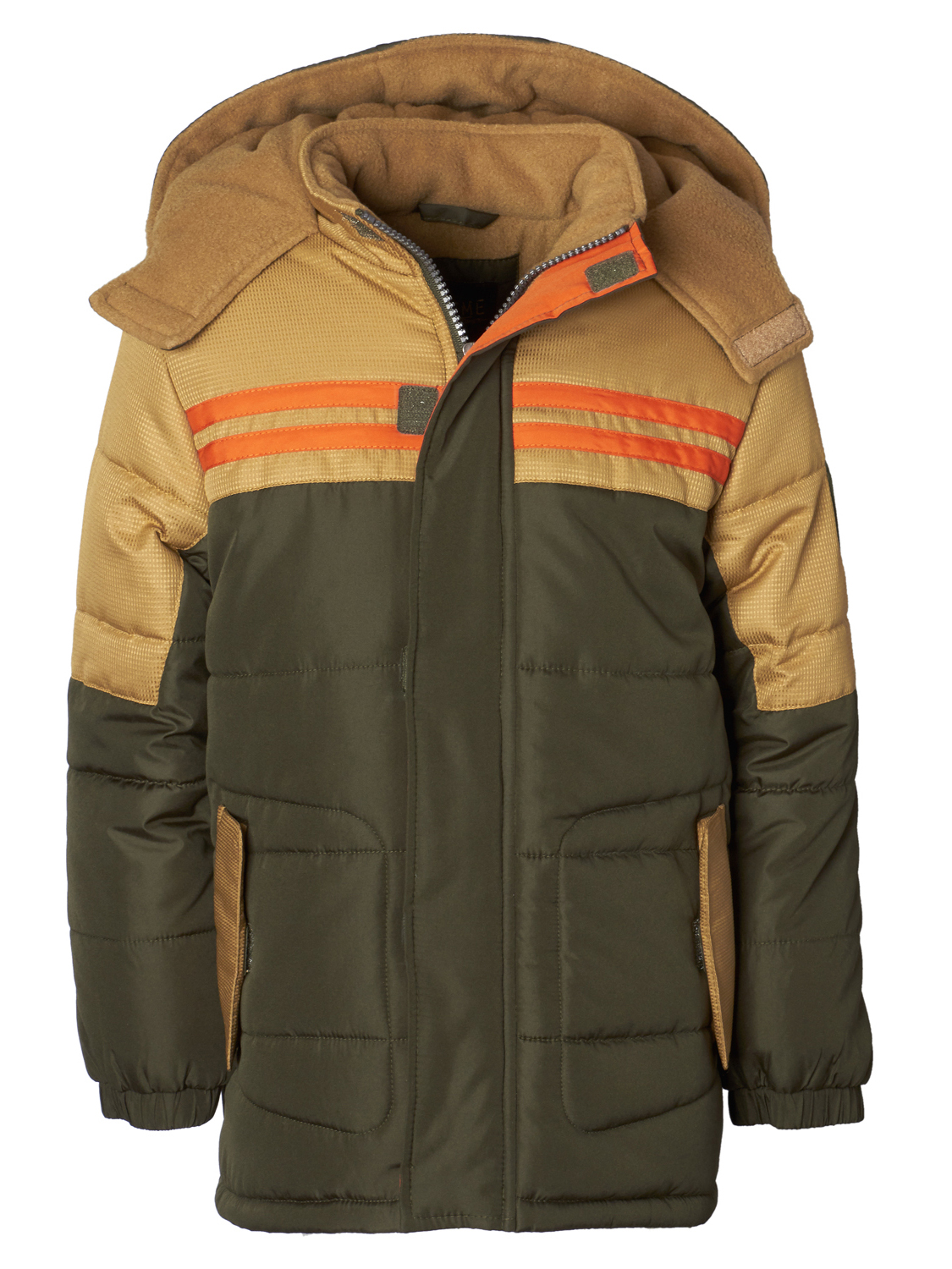 Colorblock Expedition Puffer Jacket (Little Boys & Big Boys)
