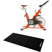 IRONMAN Triathlon X-Class 510 Smart Technology Indoor Cycling Exercise Bike with Bluetooth, and BONUS My Cloud Fitness Chest Belt and Exercise Equipment Mat Value Bundle