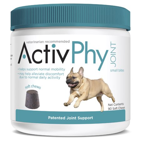 ActivPhy 90 Count Patented Joint Support Small Bites Soft Chews, Under 30 - 7 Small Bites