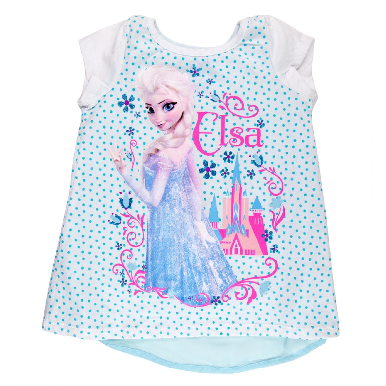 Frozen - Elsa Castle Toddler Tunic Chiffon Insert T-Shirt