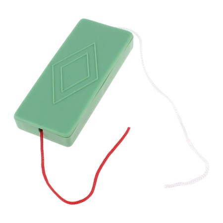 Magical Magic Green Plastic Case Tunnel Red White String Funny Trick Playing