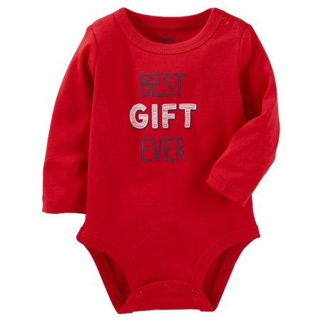 OshKosh B'gosh Baby Boys' Best Gift Ever Bodysuit, 3