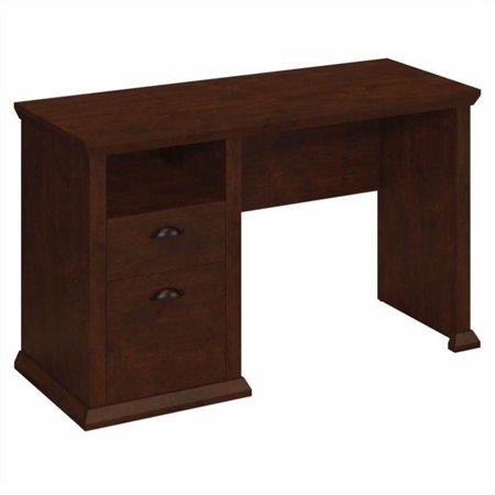 Scranton & Co Single Pedestal Desk in Antique Cherry