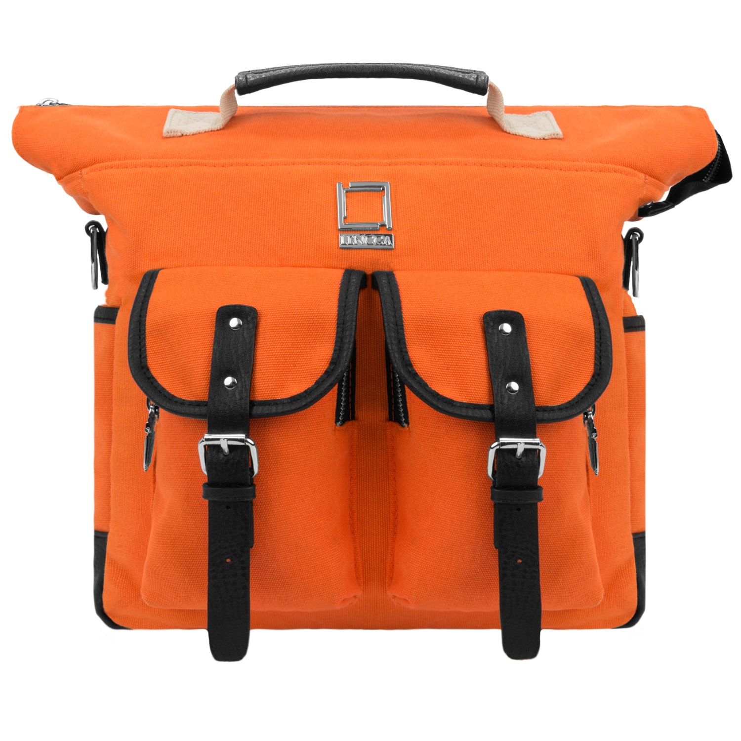 """LENCCA Mini Phlox 3 in 1 Universal Messenger / Backpack / Carrying Bag Fits 10"""", 10.1"""", 11"""", 11.6""""or 12"""" Tablets or Laptops"""