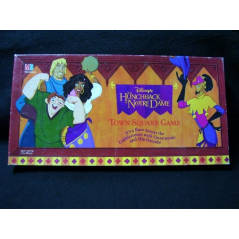 Disney's The Hunchback of Notre Dame Town Square Game by Milton Bradley by
