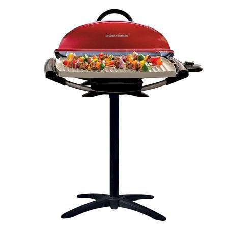 George Foreman Indoor|Outdoor 12+ Serving Electric Grill ...