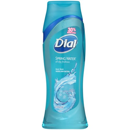 Dial Aerosol - (2 pack) Dial Body Wash, Spring Water, 21 Ounce