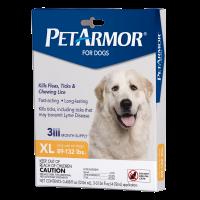 PetArmor Flea & Tick Treatment for Dogs 89-132 lbs 3-Counts Applicator