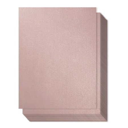 Best Paper Greetings 96-Pack Mauve Colored Paper, 8.5 x 11 (Best Paper For Letterpress)