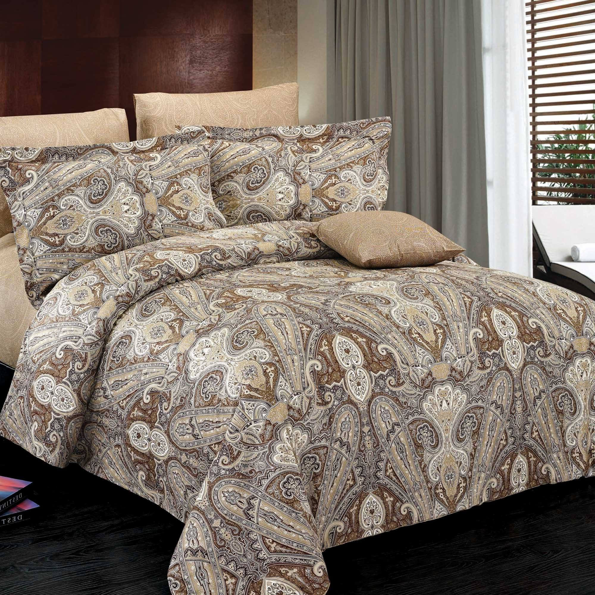 North Home Concord 100 Cotton Duvet Cover Set Queen