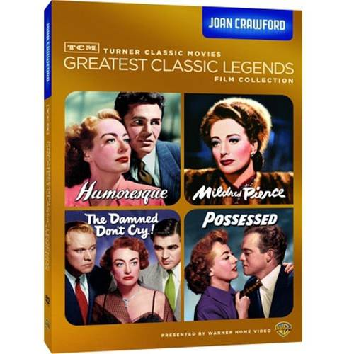 TCM Greatest Classic Legends Film Collection: Joan Crawford - Humoresque / Mildred Pierce / The Damned Don't Cry / Possessed