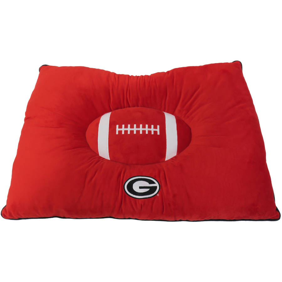 Pets First College Georgia Bulldogs Pet Pillow Bed