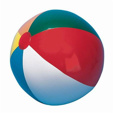 Champion Sports IB48 48 in. Multicolored Beach (Beach Balls With Logo)