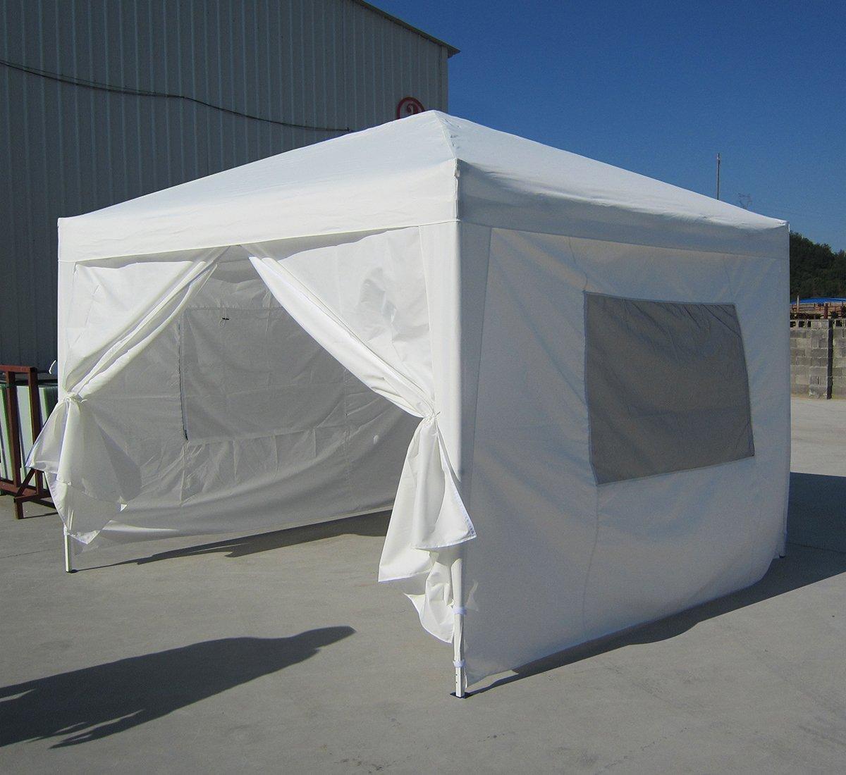 Big Sale!!Quictent privacy 10x10 Mesh Curtain EZ Pop Up Party Tent