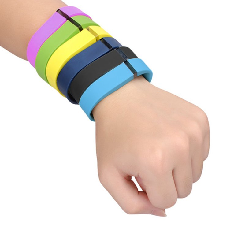 Large Size Replacement Wrist Band Bracelet for FITBIT FLEX Tracker w/Clasps