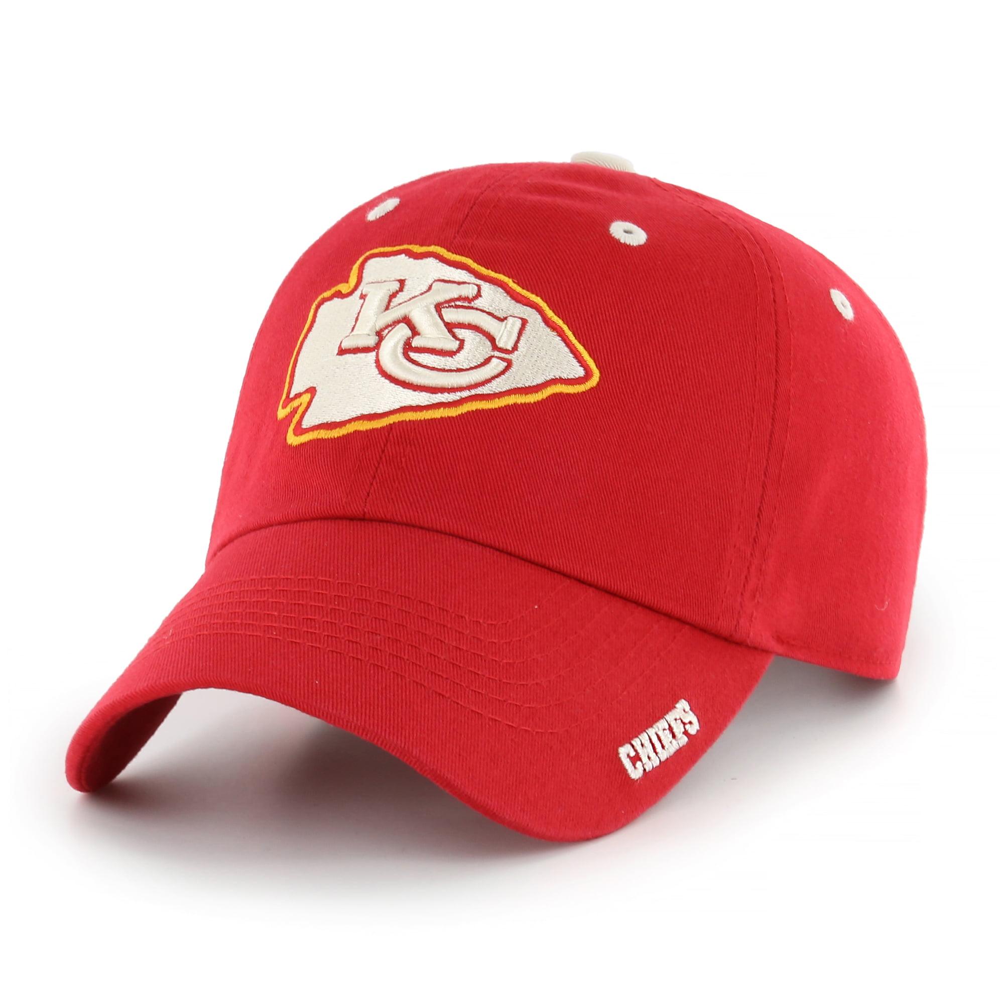 NFL Kansas City Chiefs Ice Adjustable Cap/Hat by Fan Favorite