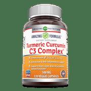 Best Curcumin C3 Complex With Bioperines - Amazing Formulas Turmeric Curcumin C3 Complex 500 Mg Review