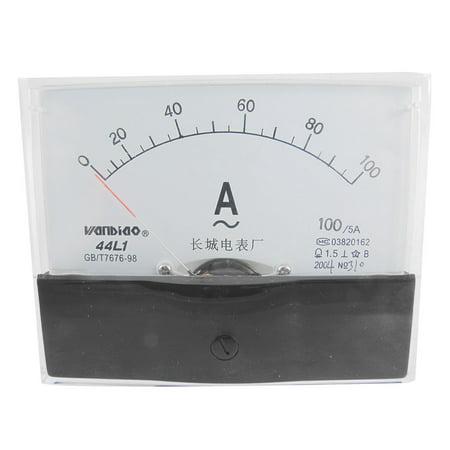 Unique Bargains 44L1-A 100x80mm Panel AC 100A Analog Meter Ammeter