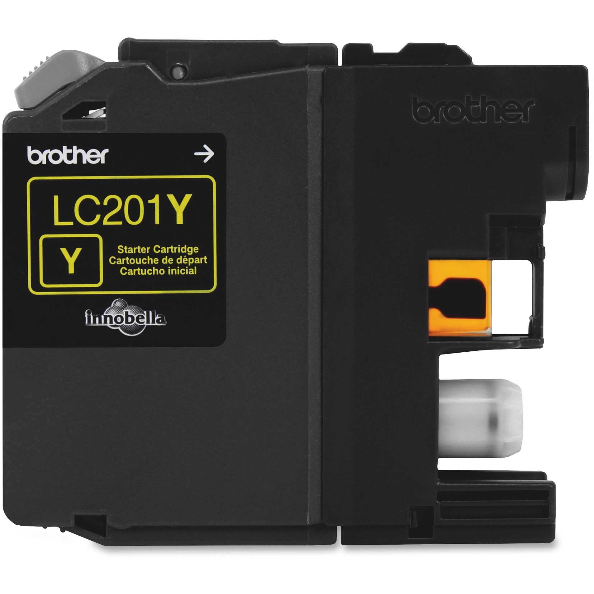 Brother LC201Y Yellow Ink Cartridge (260 Yield) LC201Y