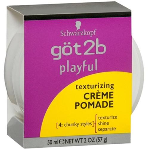 got2b Playful Texturizing Creme Pomade 2 oz (Pack of 3)