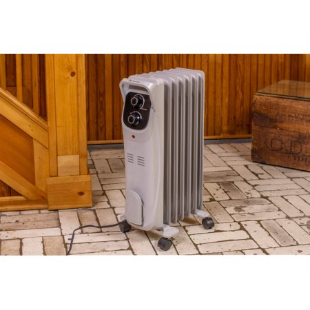 Comfort Zone CZ8008 Electric Oil-Filled Radiator Heater