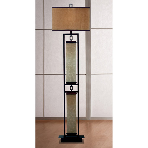 Kenroy Home Plateau Floor Lamp, Oil Rubbed Bronze