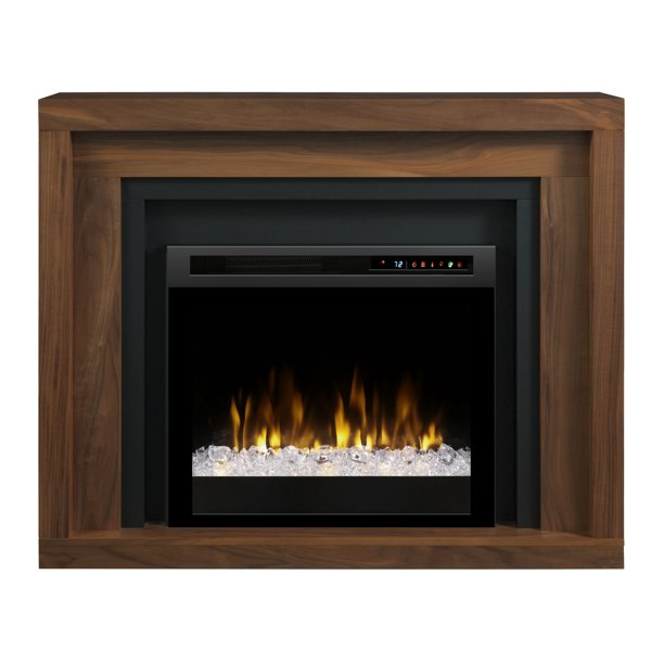 Dimplex Anthony Mantel Electric Fireplace With Acrylic Ember Bed