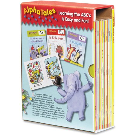 Scholastic AlphaTales Box Set Education Printed Book