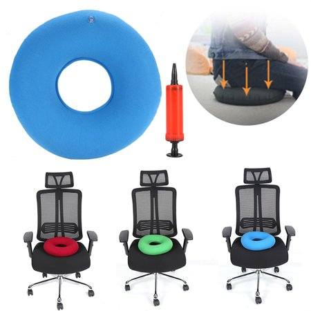 Marvelous Anti Haemorrhoids Cushion New Inflatable Round Chair Pad Hip Support Hemorrhoid Seat Cushion With Pump Home Interior And Landscaping Sapresignezvosmurscom