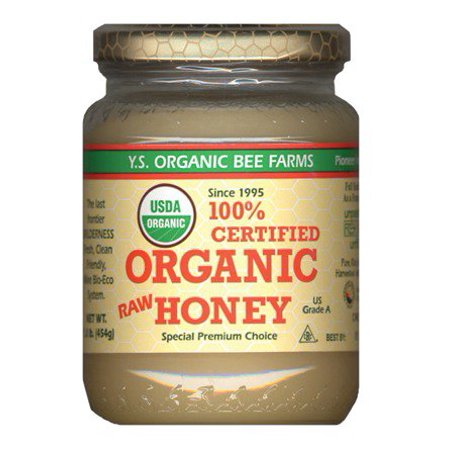 Certified Organic Raw Honey Ys Organic Bee Farms 16 Oz Paste