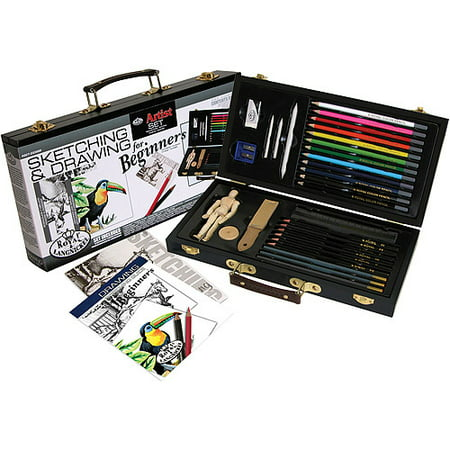 Royal & Langnickel Sketch & Draw Beginners Art Set, 32pc