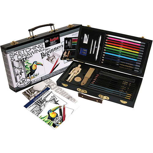 Royal and Langnickel Sketch & Draw Artist Set For Beginners, Sketching & Drawing RYLRSET-DS3000