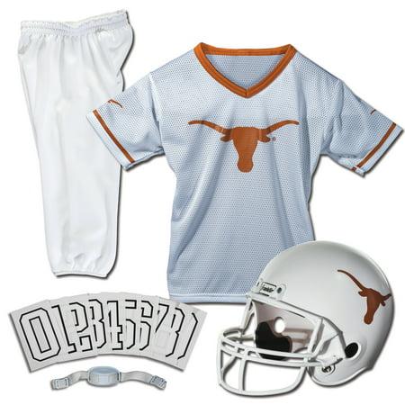 Ncaa Texas Longhorns Glass Football (Franklin Sports NCAA Texas Longhorns Uniform Set,)