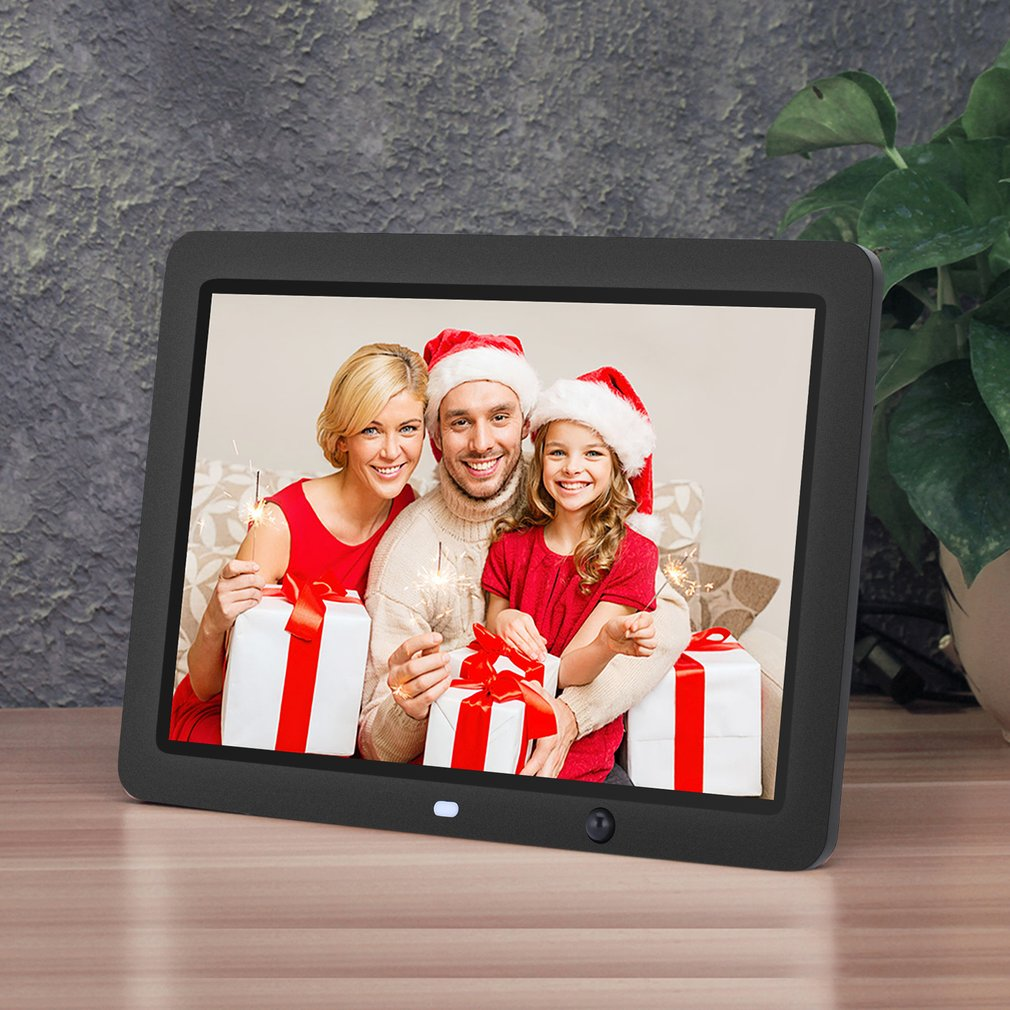 12 inch HD Digital Photo Frame Motion Sensor /& 8GB Memory LED Digital Picture Frame with Wireless Remote Control Music MP3//MP4 Video Picture Frame