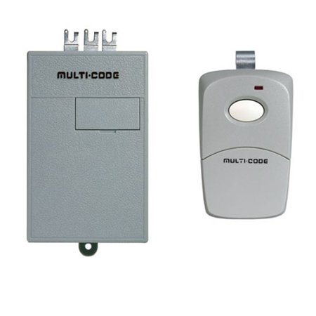 Radio Remote Control Transmitter - Linear MCS1011 Multi Single Garage Door Radio Controls with Receiver and Transmitter
