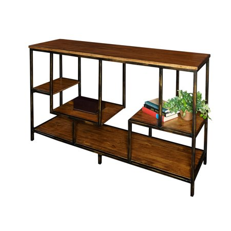 Powell Cortez Console, Dark Honey