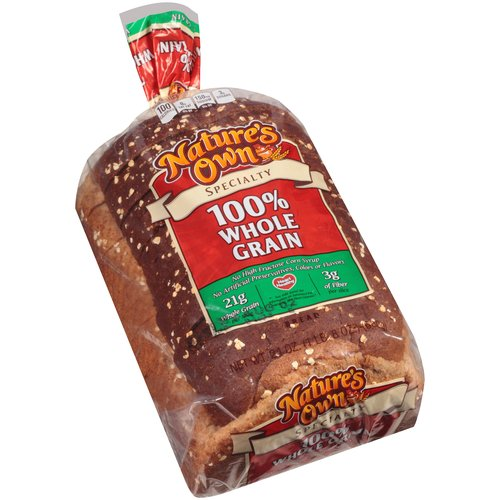 Nature's Own Specialty 100% Whole Grain Bread, 24 oz
