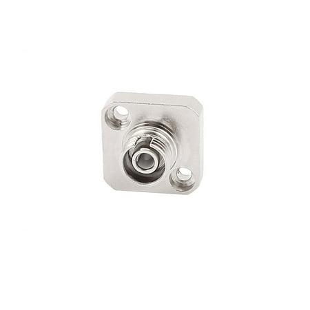 Square SM/MM FC Fibre Coupler Flange Connector Optical Fiber Adapter