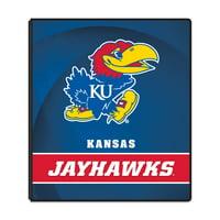 """NCAA Kansas Jayhawks 3 Ring Binder, 175 Sheet Capacity, 1"""" Metal Rings"""