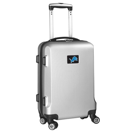 Detroit Lions 21u0022 Hard Case 2-Tone Spinner Carry-On Luggage - Silver
