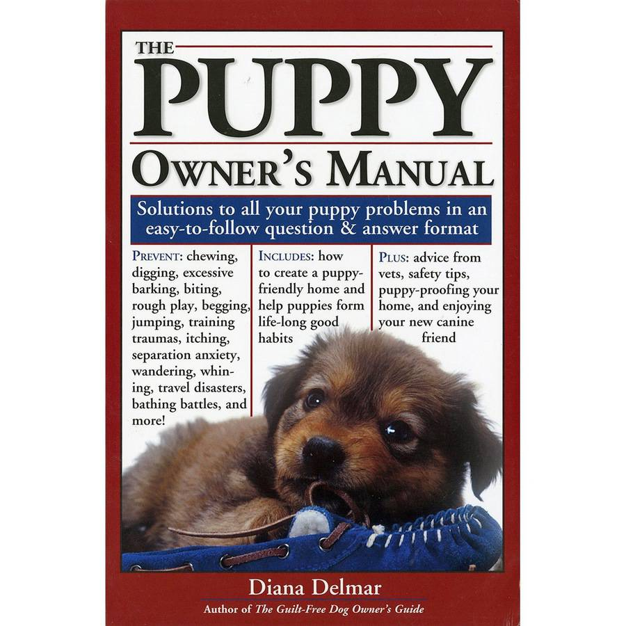 Storey Publishing The Puppy Owner's Manual