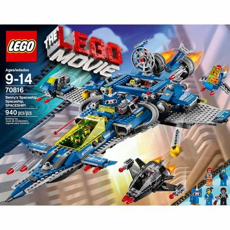 Lego Movie Bennys Spaceship Spaceship Spaceship Walmart