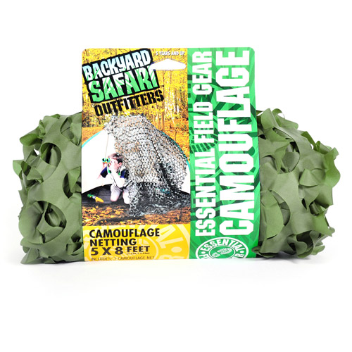 Backyard Safari Camouflage Netting, Green